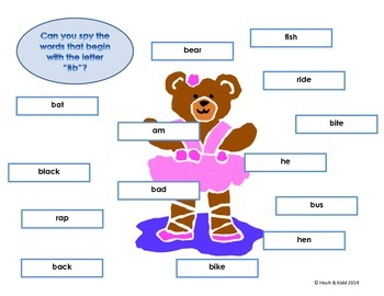 I Spy ABC's Bundle - Alphabet Recognition & Beginning Sounds