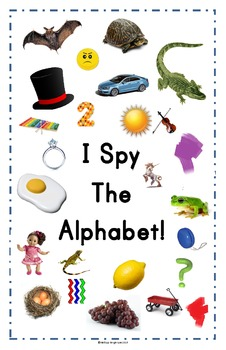 I Spy ABCs - Game