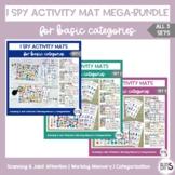 I Spy Activity Sheets for Basic Categories MEGA-Bundle