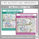 I Spy Activity Sheets for Basic Categories MINI-Bundle | Sets 2 & 3