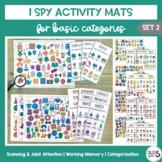 I Spy Activity Sheets for Basic Categories | Set 2