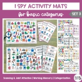 I Spy Activity Sheets for Basic Categories | Set 3