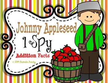 I Spy Addition Facts ~Johnny Appleseed Edition~