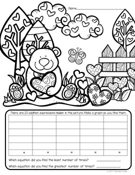 I Spy Addition Facts ~Valentine Edition~ CUSTOMIZABLE!