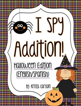 I Spy Addition! (Halloween Ed.)
