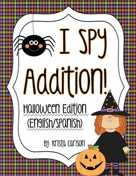 I Spy Addition! (Halloween Ed.)