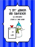 *I Spy* Addition and Subtraction Without Regrouping FREEBIE