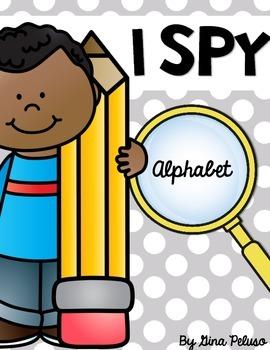Alphabet Literacy Station: I Spy