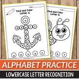 I Spy Letter Sounds Bubble Letters Alphabet Worksheets Preschool