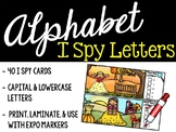 I Spy Alphabet Literacy Center - Fall & Autumn Edition
