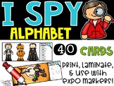 I Spy Alphabet Literacy Center - Halloween Edition