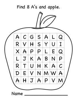 I Spy - Alphabet Word Finds