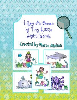I Spy An Ocean of Sight Words!
