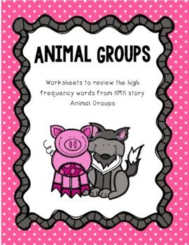 I Spy Animal Groups