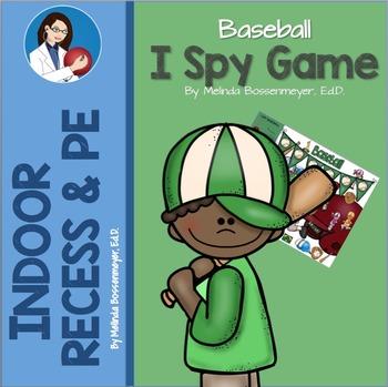 I Spy Baseball
