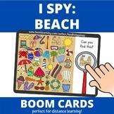 I Spy: Beach BOOM Cards (distance learning)