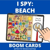 I Spy: Beach BOOM Cards (distance learning)