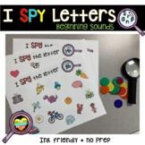 I Spy Beginning Sound Hunt