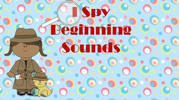 I Spy Beginning Sounds!