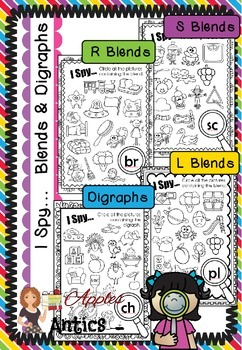 I Spy... Blends and Digraphs