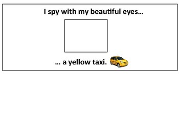 I Spy Book (Transportation Themed)