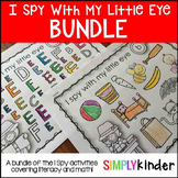I Spy Bundle of Literacy & Math