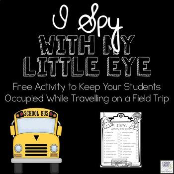 I Spy - Bus Ride