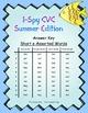 I-Spy CVC Mirror Words - Short /e/ Assorted Words (Summer