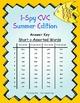 I-Spy CVC Mirror Words - Short /o/ Assorted Words (Summer
