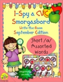 I-Spy CVC Beginning Sounds - Short /a/ Assorted Words (Sep