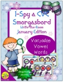 I-Spy CVC Beginning Sounds - Variable Vowel Words (January