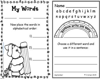 I-Spy CVC Creative Writing - Assorted Vowels (September Edition)