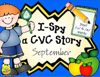 I-Spy CVC Creative Writing - Short /u/ & /e/ Words (Septem