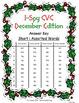 I-Spy CVC Crack the Code - Short /i/ Assorted Words (Dec. Edition) Set 1