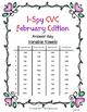 I-Spy CVC Crack the Code - Variable Vowel Words (February Edition) Set 1