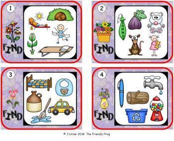 I-Spy CVC Hidden Pictures -- Variable Vowel Words (April Edition)