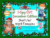 I-Spy CVC Learning Centers - Short /e/ Assorted Words (Dec