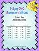 I-Spy CVC Match-Up - Assorted Vowels (Summer Edition)
