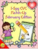 I-Spy CVC Match-Up - Short /a/ Assorted Words (February Edition)