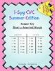 I-Spy CVC Match-Up - Short /a/ Assorted Words (Summer Edition)