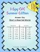 I-Spy CVC Match-Up - Short /e/ Assorted Words (Summer Edition)