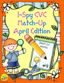 I-Spy CVC Match-Up - Short /i/ Assorted Words (April Edition)