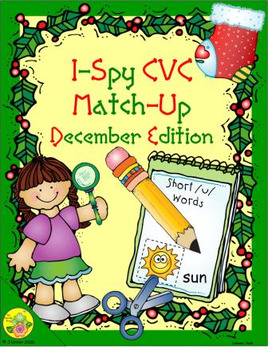 I-Spy CVC Match-Up - Short /u/ Assorted Words (December Edition)