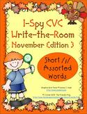 I-Spy CVC Mirror Words - Short /i/ Assorted Words (November Edition) Set 3