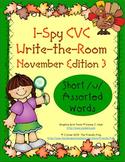 I-Spy CVC Mirror Words - Short /u/ Assorted Words (November Edition) Set 3