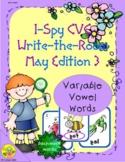 I-Spy CVC Mirror Words - Variable Vowel Words (May Edition) Set 3