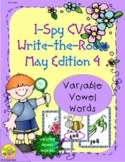 I-Spy CVC Mirror Words - Variable Vowel Words (May Edition) Set 4