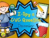I-Spy CVC Question Building Bundle (December Edition)