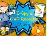 I-Spy CVC Question Building Bundle (October Edition)