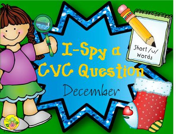 I-Spy CVC Questions - Short /u/ Words (December Edition)